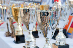 trophies Royalty-vrije Stock Foto