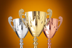 Trophies Stock Image