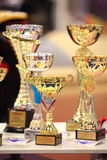 Trophies closeup Royalty Free Stock Photo