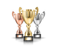Trophies Royalty Free Stock Photography