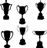 Trophies silhouettes collection