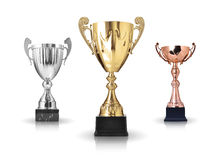 Trophies Royalty Free Stock Photo