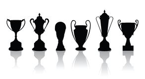 Trophies vectors Stock Photography