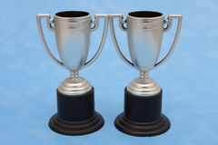 Trophies  - win win situation Stock Photography
