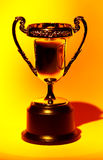 Trophy. With Creative Lighting Stock Photos