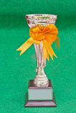 Trophy. Of success is victory royalty free stock photography