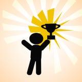 trophy ilustração stock