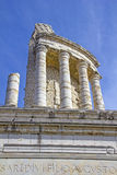 Trophy of Augustus in La Turbie, South of France Stock Photo