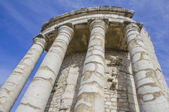Trophy of Augustus in La Turbie, French Riviera Stock Photo