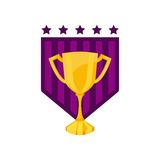 trophy award championship emblem Royalty Free Stock Photography