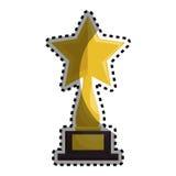 Trophy award cinema icon Royalty Free Stock Images