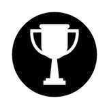 Trophy award isolated icon. Vector illustration design Royalty Free Stock Image