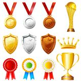 Trophy and Awards royalty free illustration
