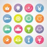 Trophy and awards symbol Stock Photos