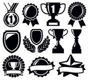 Trophy and awards Royalty Free Stock Photos