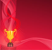 Trophy background Royalty Free Stock Images