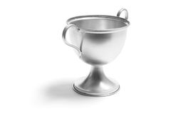 Trophy Cup. On White Background royalty free stock photos
