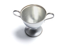 Trophy Cup. On White Background royalty free stock photography