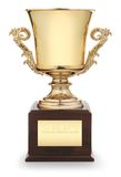 Trophy cup Stock Image