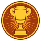 Trophy cup. Symbol,  Icon Stock Photos