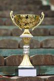 Trophy cup Royalty Free Stock Photography