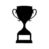Trophy cup award icon. Vector illustration design Stock Images
