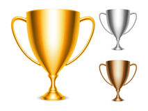 Trophy Cup Icons Stock Photography