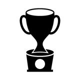 Trophy cup isolated icon. Vector illustration design Stock Image