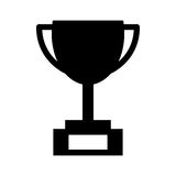 Trophy cup isolated icon Royalty Free Stock Photography