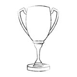Trophy cup isolated icon Stock Photo