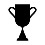 Trophy cup isolated icon Royalty Free Stock Photo