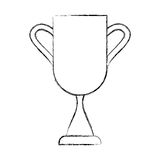 Trophy cup isolated icon Stock Image