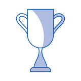 Trophy cup isolated icon Royalty Free Stock Photos