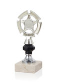 Trophy cup isolated stock image