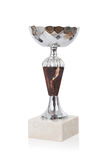 Trophy cup isolated stock photo