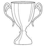 Trophy cup Royalty Free Stock Photo