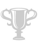 Trophy cup symbol Stock Image