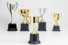 Trophy Cup on white background royalty free stock image