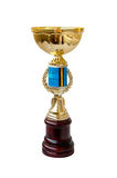 Trophy cup for winner. Trophy cup for a winner in a competition Royalty Free Stock Photo