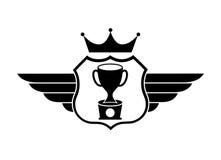 Trophy design. Trophy graphic design , vector illustration stock illustration