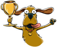 Trophy Dog Stock Photography
