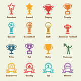Trophy elements Stock Photography