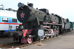 Trophy freight locomotive, built in Austria in 1943. The general view royalty free stock photos