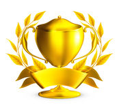 Trophy gold Royalty Free Stock Photo