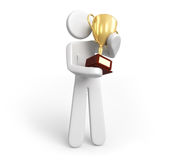 Trophy Gold Stock Image