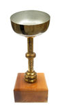Trophy loving cup. The trophy is a reward for a specific achievement, and usually afterwards serves as proof of merit. They are most often awarded with sporting royalty free stock photos
