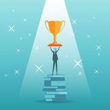 Trophy Of Knowledge Stock Photography