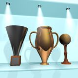 Trophy room Stock Image