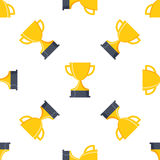 Trophy seamless Royalty Free Stock Images