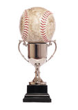 Trophy and softball Stock Photos